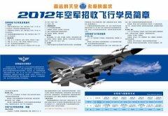2012年空军招收飞行学员简章